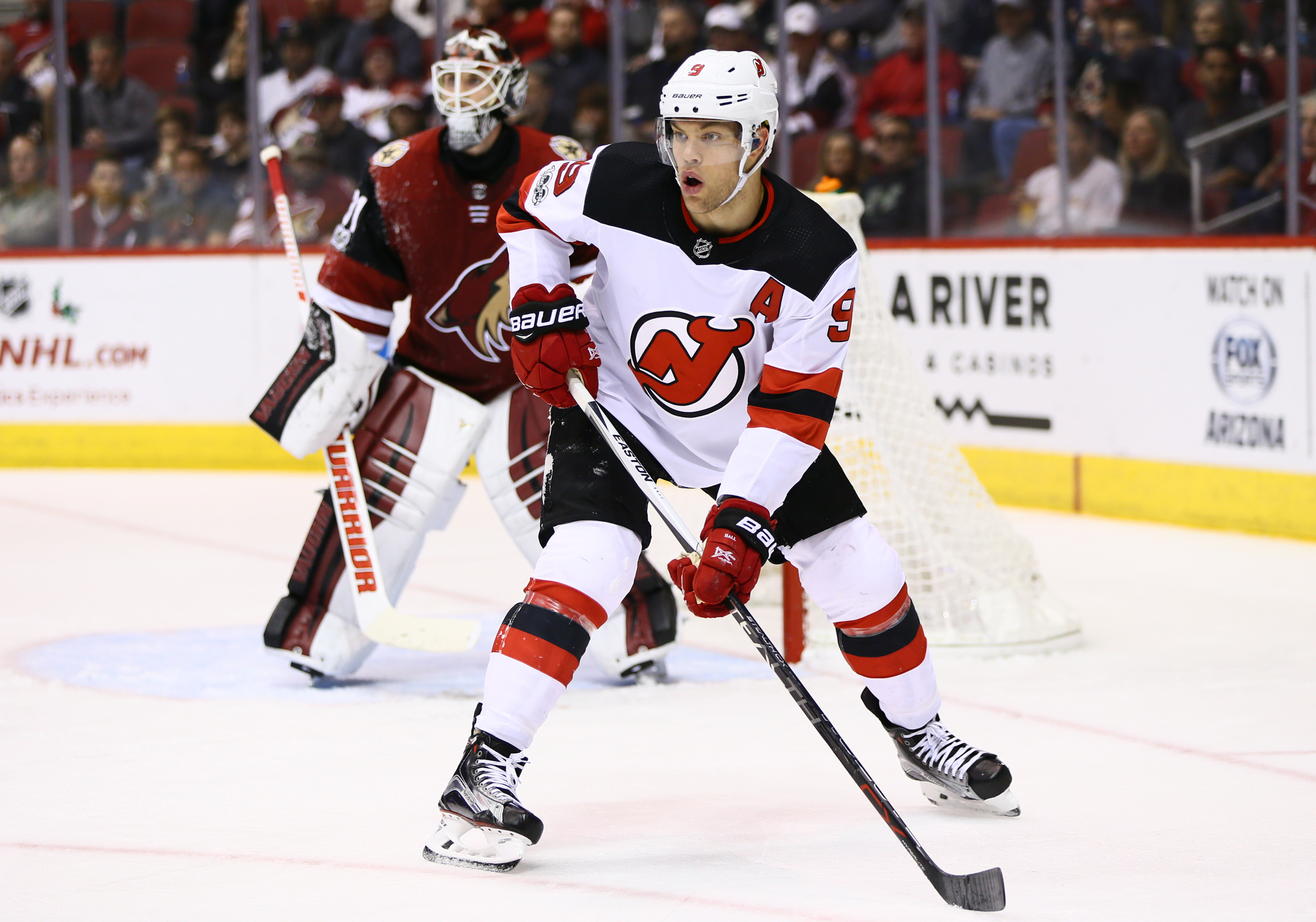 New Jersey Devils Taylor Hall Return Very Underwhelming For Ray Shero